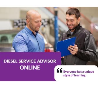 Diesel Service Advisor online training